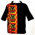 BLACK HALF AFRICA JUMPER TOP