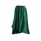 Green with Envy Satin Wrap Skirt