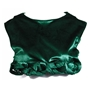 Green Crop Do Knot Hem Top